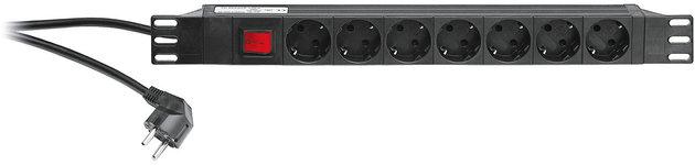 Konig & Meyer 28675 19'' Power Box Black