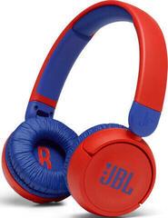 JBL JR310 BT Červená Bezdrátová sluchátka na uši