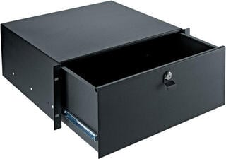 Konig & Meyer 491/2 Rackmount Storage Black, 4 spaces