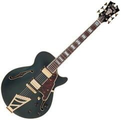 D'Angelico Deluxe SS Stairstep Matte Midnight