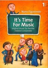 Nuno Figueiredo It's Time For Music 1 Music Book