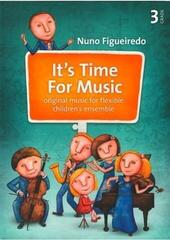 Nuno Figueiredo It's Time For Music 3 Music Book