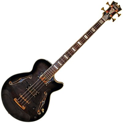 D'Angelico Excel Bass Grey Black