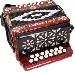 Harmonica Shuya S20XL-C Red Traditional accordion