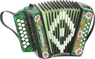 Harmonica Shuya S20XL-C Green Traditional accordion