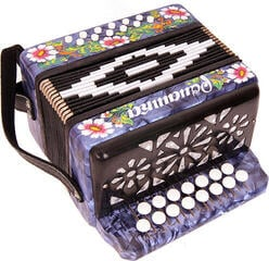 Harmonica Shuya S20XL-C Blue Traditional accordion