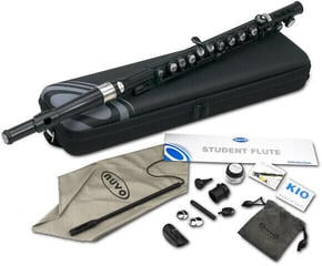 NUVO Student Flute Kit Black/Silver