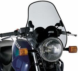Givi A603 Universal Screen with 2 Point Handlebar Smoke 37,7x44cm
