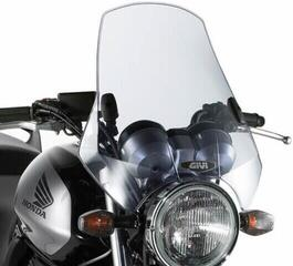 Givi A660 Universal Screen with 2 Point Handlebar Smoke 42,5x42cm