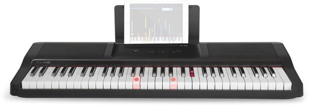 Smart piano The ONE Light Keyboard - Onyx Black