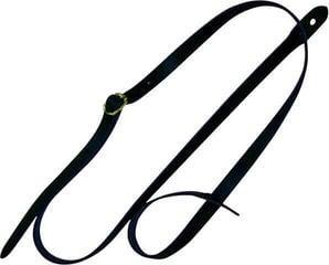 Fire&Stone 532050 Mandolin Strap Leather Black leather