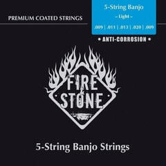 Fire&Stone 658455 Strings for Banjo Copper Alloy Light