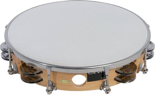 GEWA 841350 Tambourine Traditional with Shells 10''