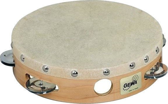 GEWA 841305 Tambourine Traditional with Shells 8''