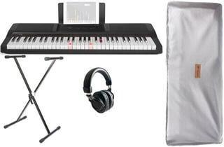Smart piano The ONE Light Keyboard - Onyx Black SET