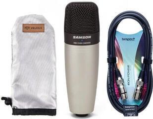Samson C01 Condenser Microphone SET