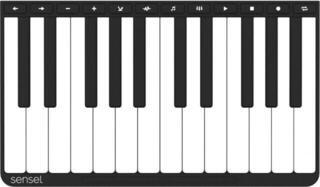 Sensel Piano Overlay