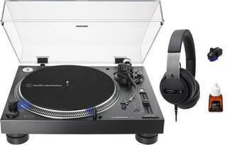 Audio-Technica AT-LP140XP SET Черeн DJ грамофон