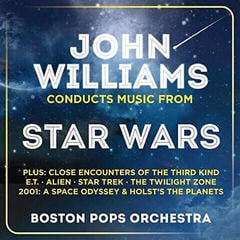 John Williams Conducts Music From Star Wars (2 CD) Glasbene CD