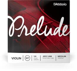 D'Addario J810 1/4M Prelude Violin Strings