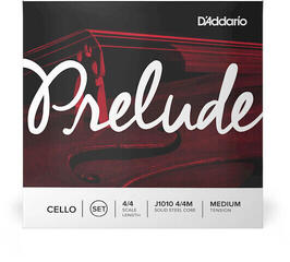 D'Addario J1011 Prelude Cello A 4/4 Medium
