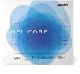D'Addario HH610 Helicore Hybrid Bass Set 3/4 Medium
