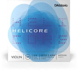 D'Addario HE310-5 Helicore Violin 5s Set 4/4 Medium