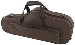 GEWA 708351 Form Shaped Case for Sax Compact Exterior Brown