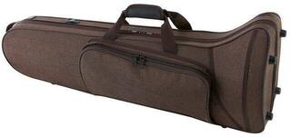 GEWA 708335 Form Shaped Case for Trombones Compact Exterior Brown