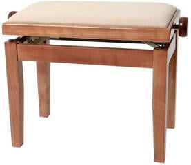 GEWA 130090 Piano Bench Deluxe Cherry Tree HighGloss