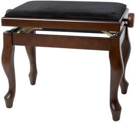 GEWA 130370 Piano Bench Deluxe Classic Walnut Matt