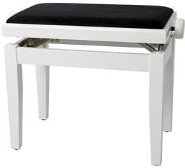 GEWA 130030 Piano Bench Deluxe White High Gloss