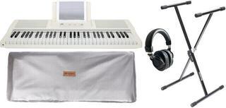 Smart piano The ONE Light Keyboard - White Gold SET