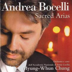Andrea Bocelli Sacred Arias Music CD