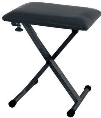 GEWA 900530 Keyboard Bench Black