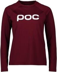 POC Women's Reform Enduro Jersey Propylene Red M