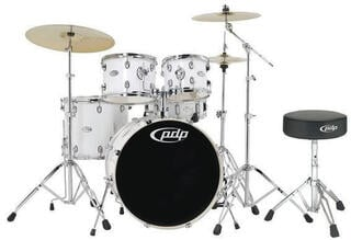 PDP by DW MAINstage Gloss White 22x10x12x16-14