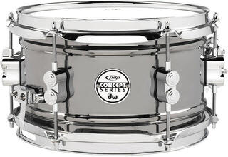 PDP by DW Concept Series Metal Snare Black Nickel over Steel 14 x 5,5''