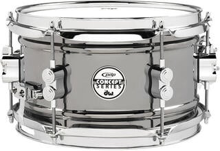 PDP by DW Concept Series Metal Snare Black Nickel over Steel 10 x 6''