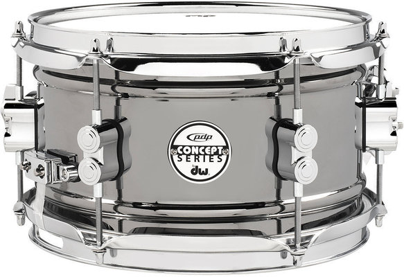 PDP by DW Concept Series Metal Snare Black Nickel over Steel 12 x 6''