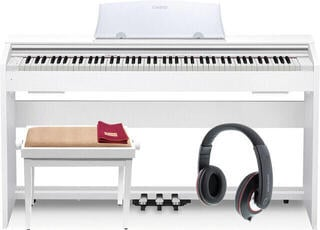 Casio PX770 White Wood Tone Digital Piano