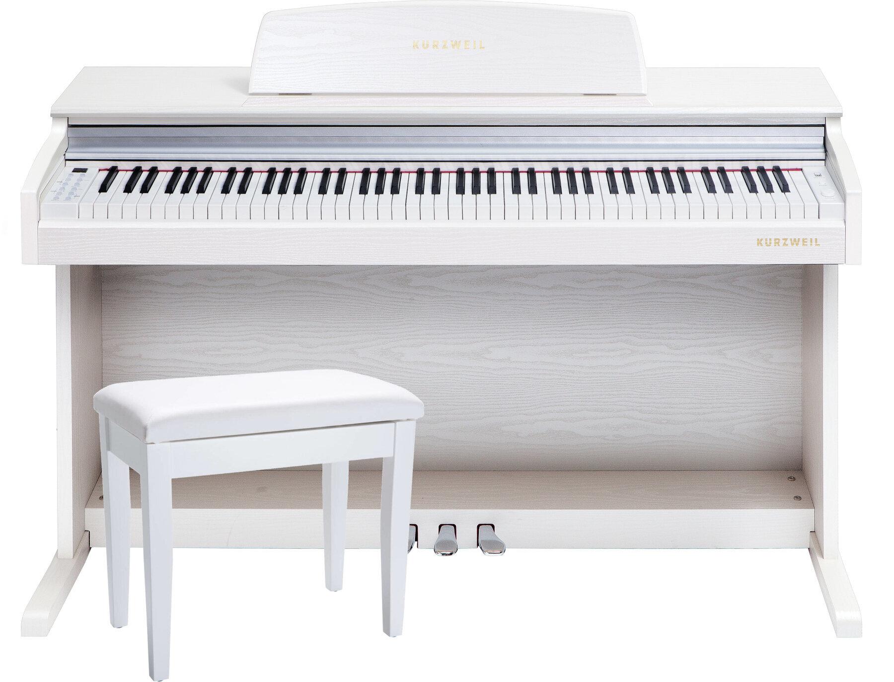 Kurzweil M210 Bílá Digitální piano