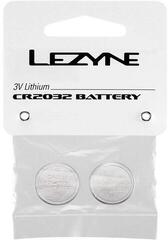 Lezyne CR 2032 Battery 2 Pack Silver