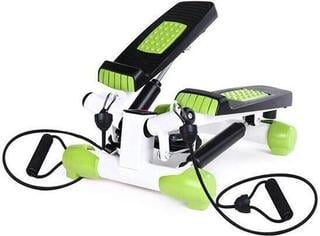 HMS S 3033 Twist Stepper with Ropes White/Green