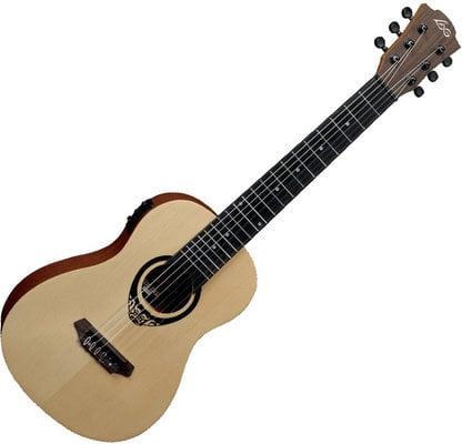 LAG TKT-150E Tiki Uku Mini Guitar Acoustic Electric