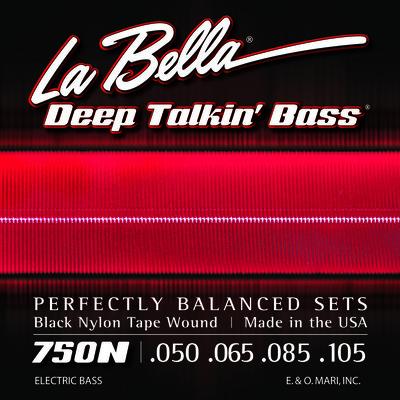 LaBella 750N Black Nylon Tape Wound Light 50-105