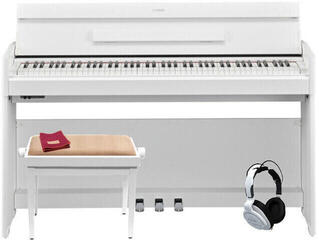 Yamaha YDP S54B White Digital Piano