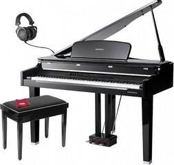 Kurzweil MPG200 Polished Ebony Piano numérique