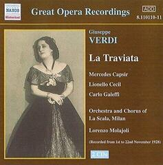 Giuseppe Verdi La Traviata - Complete (2 CD) Music CD (Unboxed) #929212