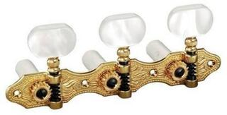 Schaller HGO 1 Baseplate 3 Large Galalith Gold